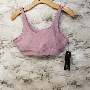 Kyodan Womens Purple Sports Bra Sz L New 42$